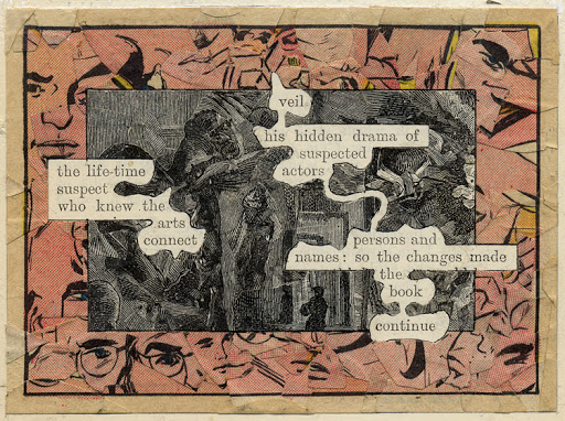 Páginas de A Humument. Derechos: Tom Phillips